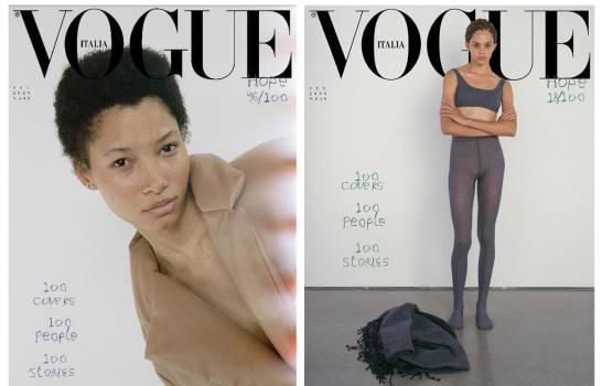 Vogue Italia destaca en su portada a modelos dominicanas