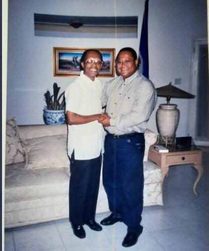 Delis Herasme: «único dominicano presente en momentos transcendentales de Haití»