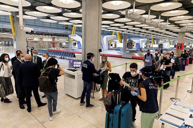 RD entre los países que pueden viajar a España sin prueba PCR