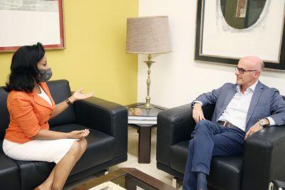 Accede aquí: Diputada Lilly Florentino se reúne con embajador de España en RD