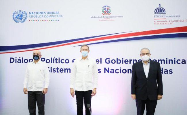 Gobierno dominicano y Sistema de las Naciones Unidas inician diálogo político para agenda común