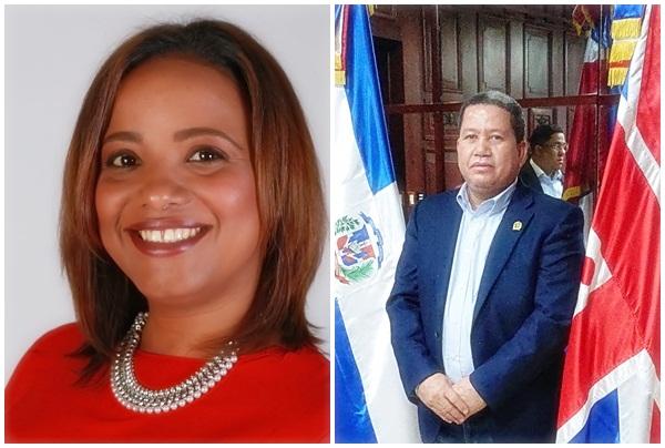 Yoselin García y Milton Díaz