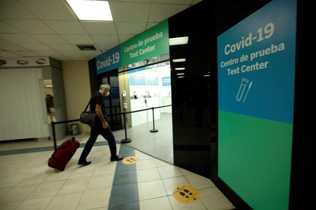 Aerodom advierte pasajeros hacia EEUU no podrán abordar sin prueba negativa de COVID-19