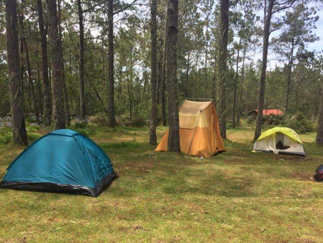 Siete destinos para acampar en República Dominicana