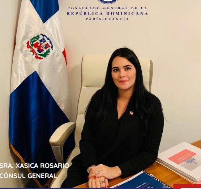 Sra. Xasica Rosario Cónsul General de París