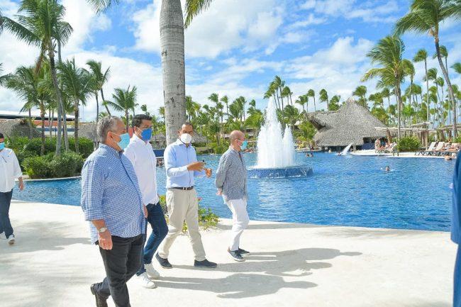 David Collado realiza visitas sorpresas para verificar que hoteles cumplen protocolos sanitarios
