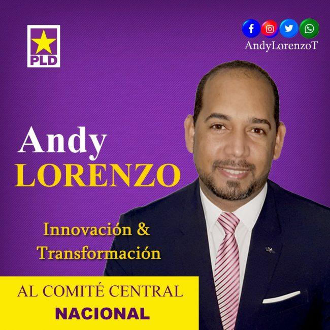 Europa: Andy Lorenzo Lanza candidatura al Comité Central del PLD