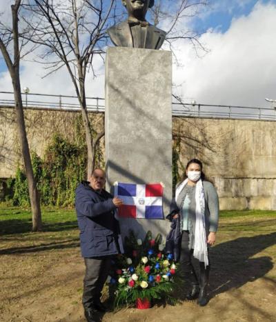 Consulado dominicano en Barcelona rinde homenaje a Juan Pablo Duarte