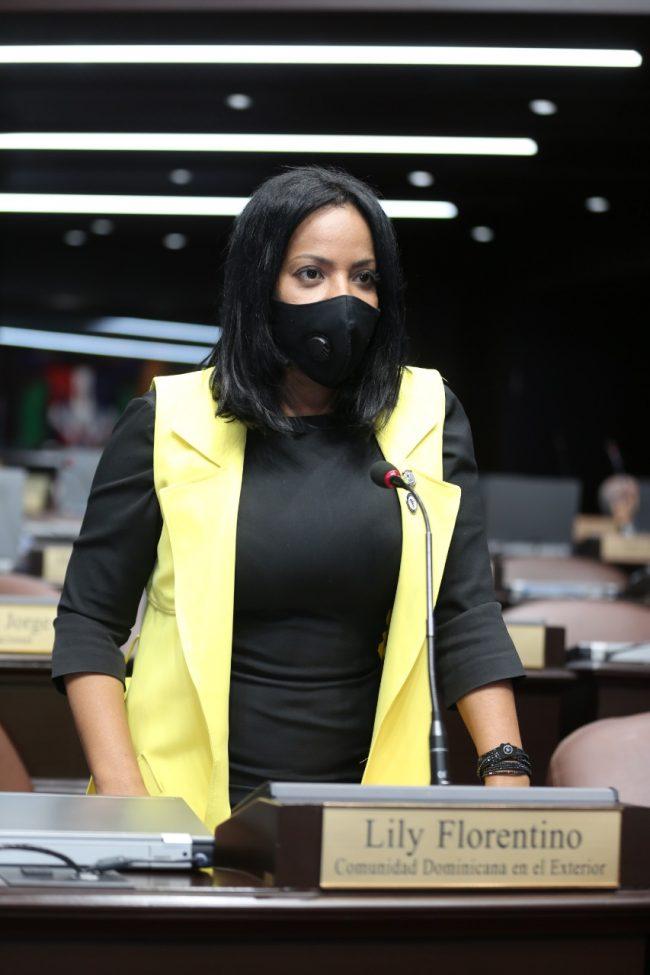 Diputada de ultramar, Lily Florentino, solicita mayor atención para los dominicanos en el exterior