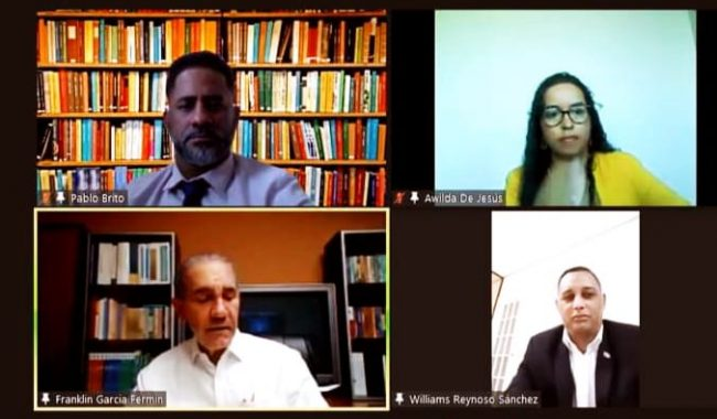 Celebran diálogo virtual para buscar soluciones a problemáticas de jóvenes dominicanos radicados en España