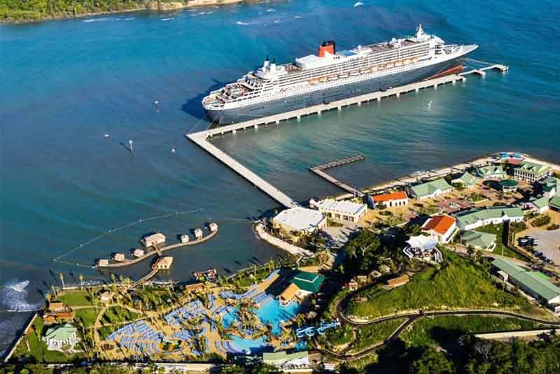 Terminal Amber Cove, en Puerto Plata, se mantiene activa con llegada de cruceros